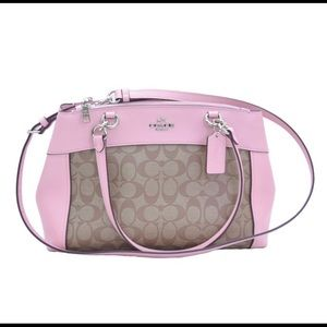Coach Brooke carryall signature